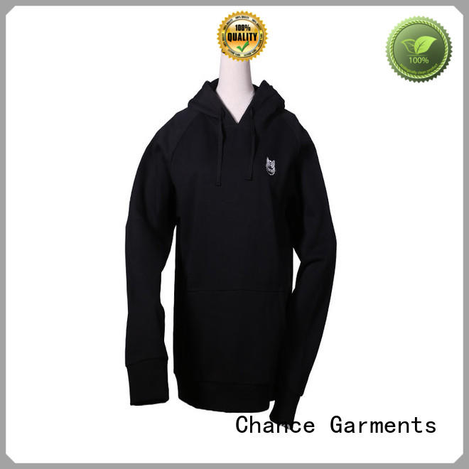 Chance short sleeve sweatshirt manufacturer for students