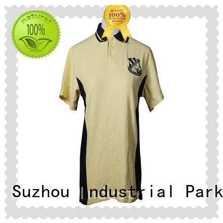 polyester short sleeve polo shirt manufacturer for golf