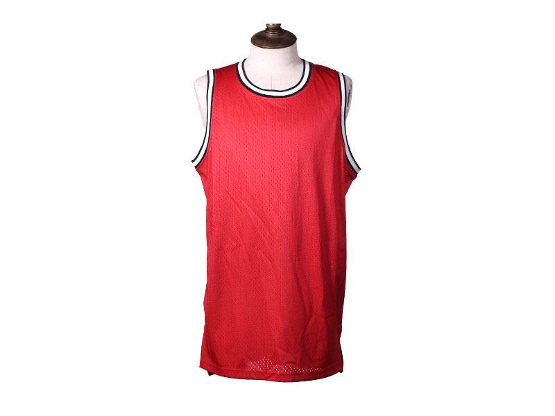 Printed Logo Sleeveless Football Jersey T Shirt Soccer Jersey No Fading