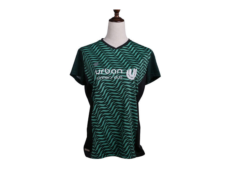 Customized Athletic Running Wear Shirt Mens Breathable Fitness Sport Wear