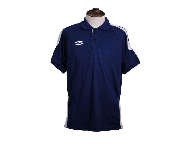 Cotton Polo T Shirts For Golf With Button PolyesterPIQUE Classic