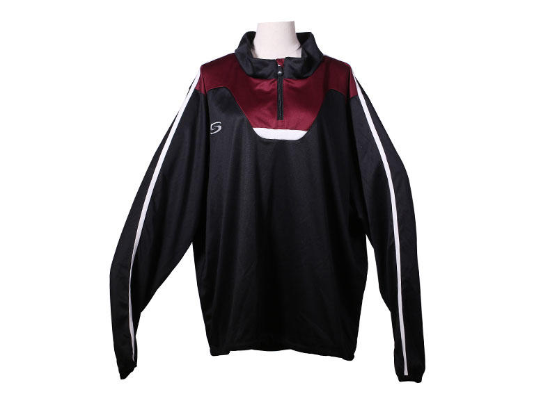 Sports Jogging Suits Custom Quarter Zip Track Top Quick Dry