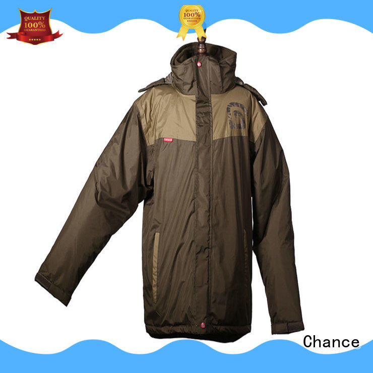 Chance windbreak padding jacket with good price for sport