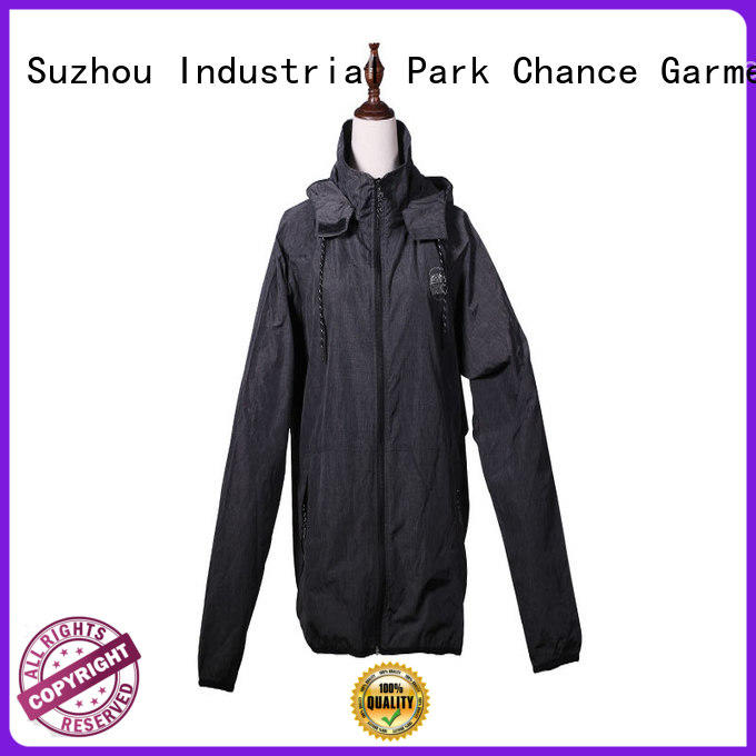 Chance taffeta polyester jacket waterproof with good price for sport