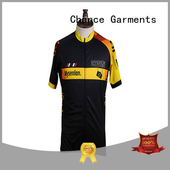Custom Cycling Jersey Anti - Slip Light Weight With Front Zipper