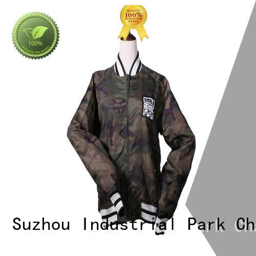 full zipper nylon jacket manufacturer for outdoor
