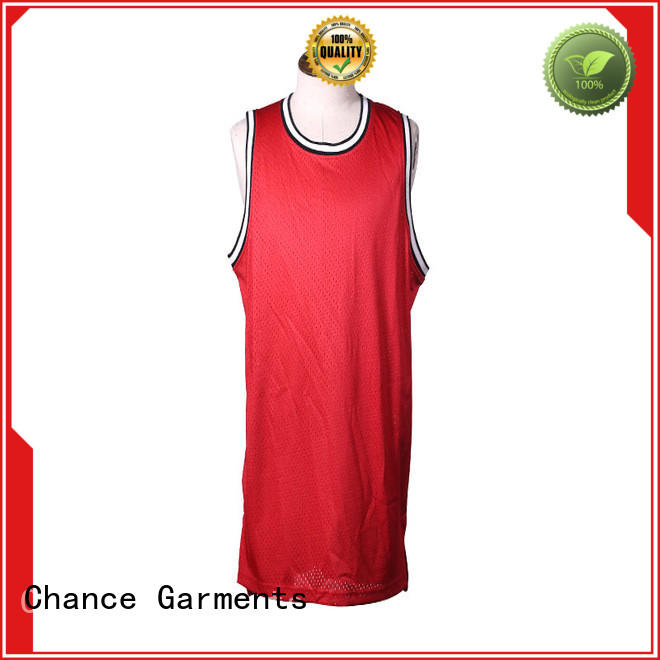 Chance basketball vest manufacturer for football