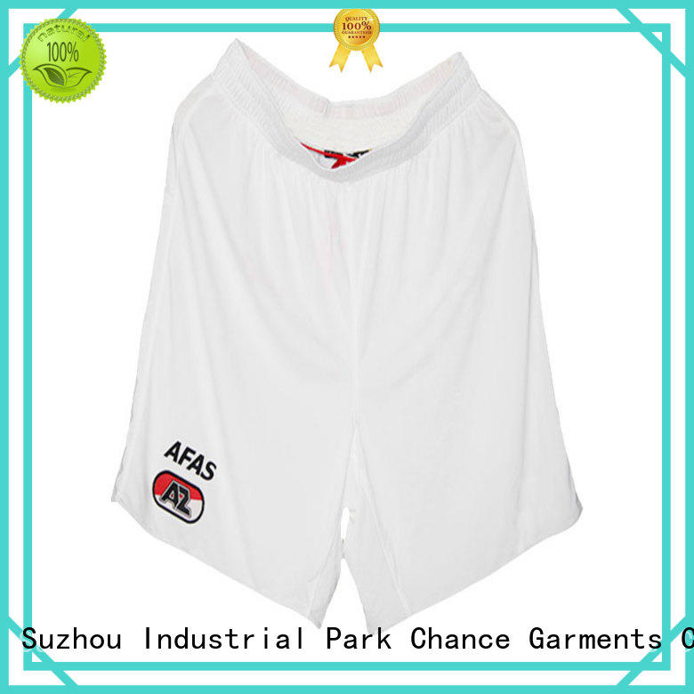 Chance polyester sport shorts manufacturer for holiday