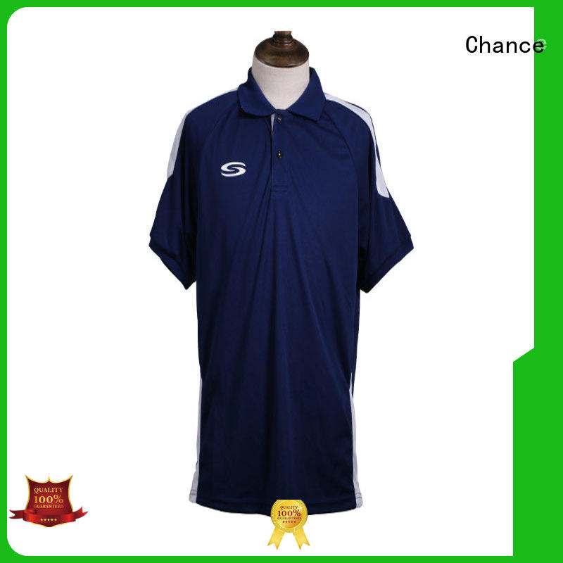 Chance white polo shirt wholesale for golf