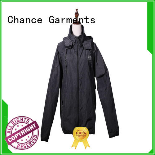 printed polyester jacket waterproof supplier for winter