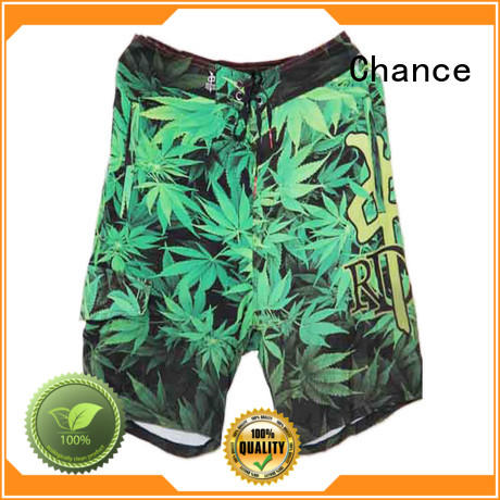 Chance polyester mens short running shorts from China for holiday