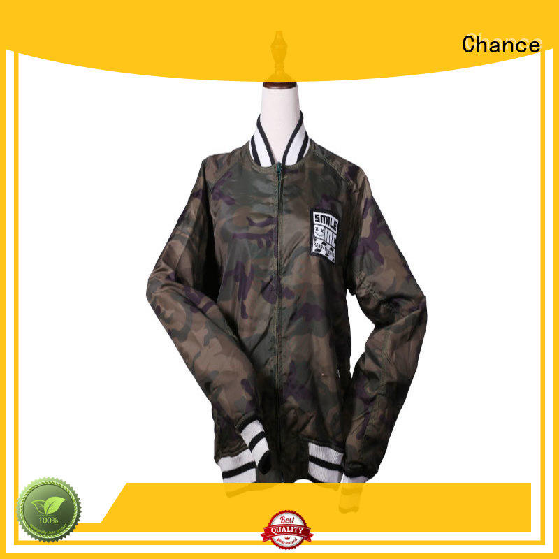 Chance womens waterproof jacket wholesale for outdoor