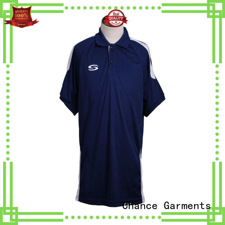 Chance best polo t shirts manufacturer for men