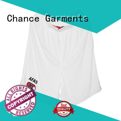 Chance sport shorts customized for sport traning