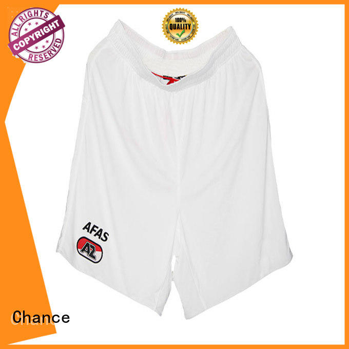 Chance sublimation printing mens training shorts wholesale for beach