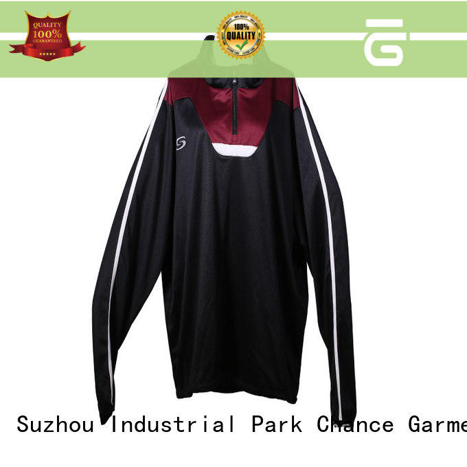 Chance mens running tracksuit factory price for jogging