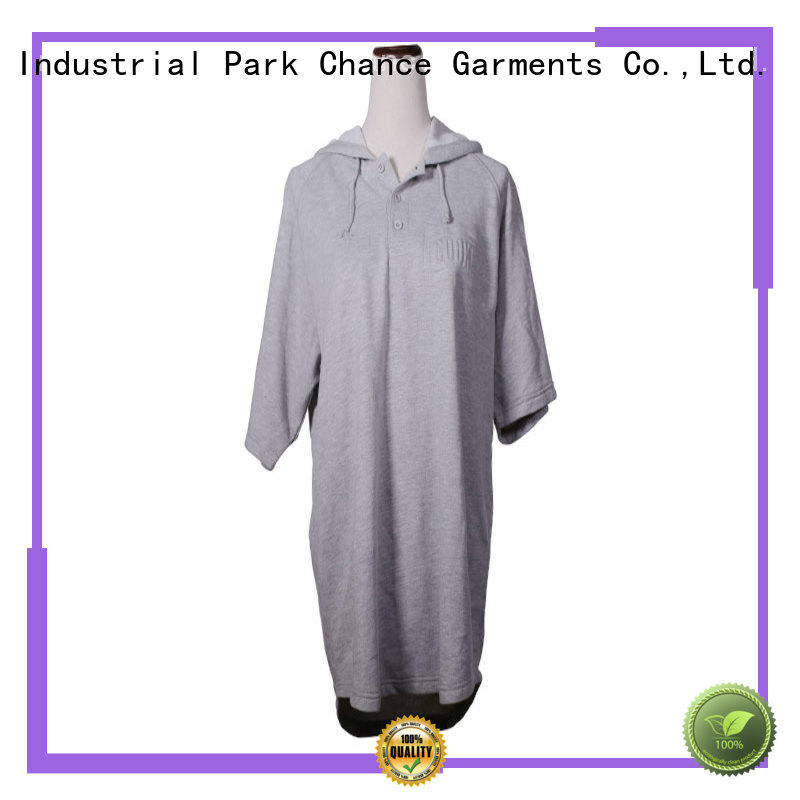 Chance grey sweatshirt manufacturer for sports
