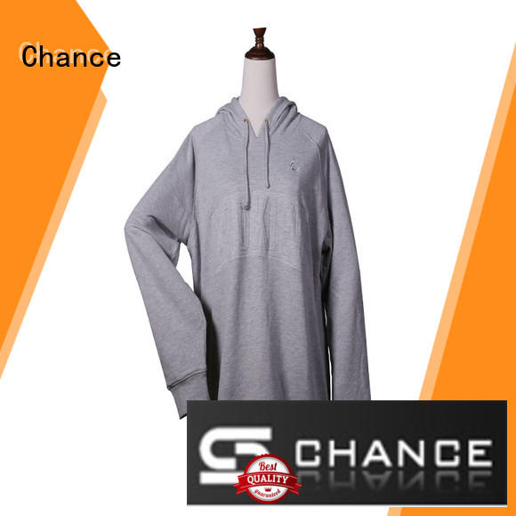 Chance short sleeves ladies sweatshirts design for students