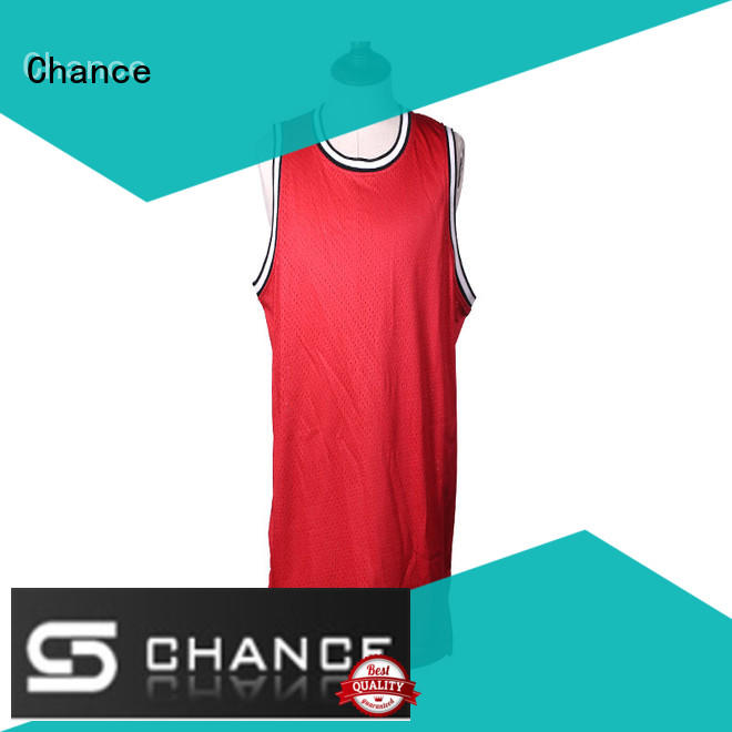 Chance polyester custom cycling jersey factory for basketball