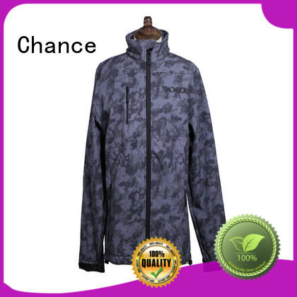 Chance windbreak jacket customized for sport