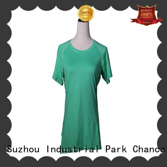 Round Neck Women Sports Shirt Quick Dry Fitness Gym Yoga T Shirt