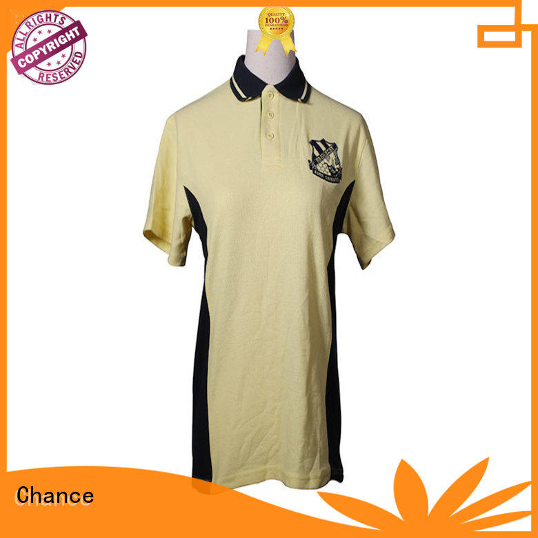 knitted short sleeve polo shirt personalized for golf