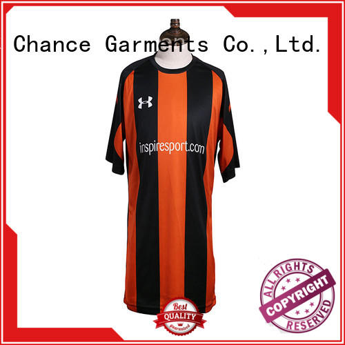 Chance flexible collar rugby jersey personalized for football