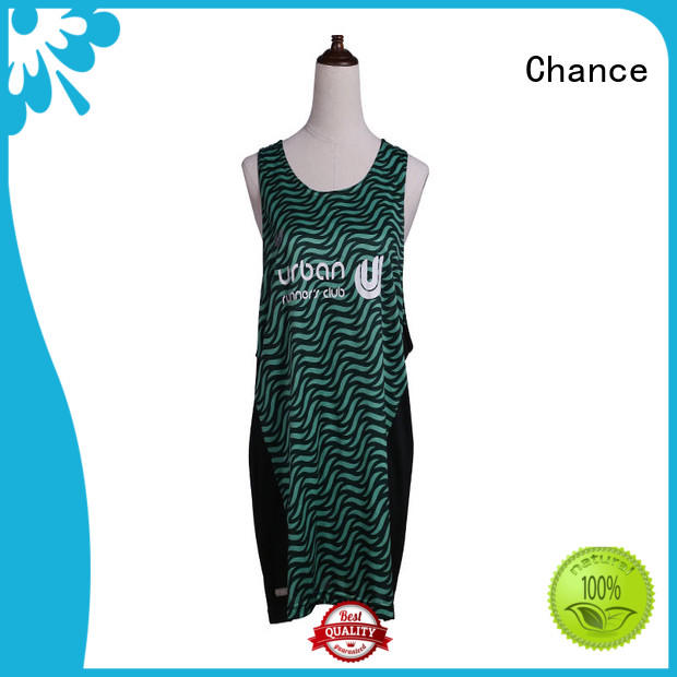 Chance dry fast running sportswear for exercise