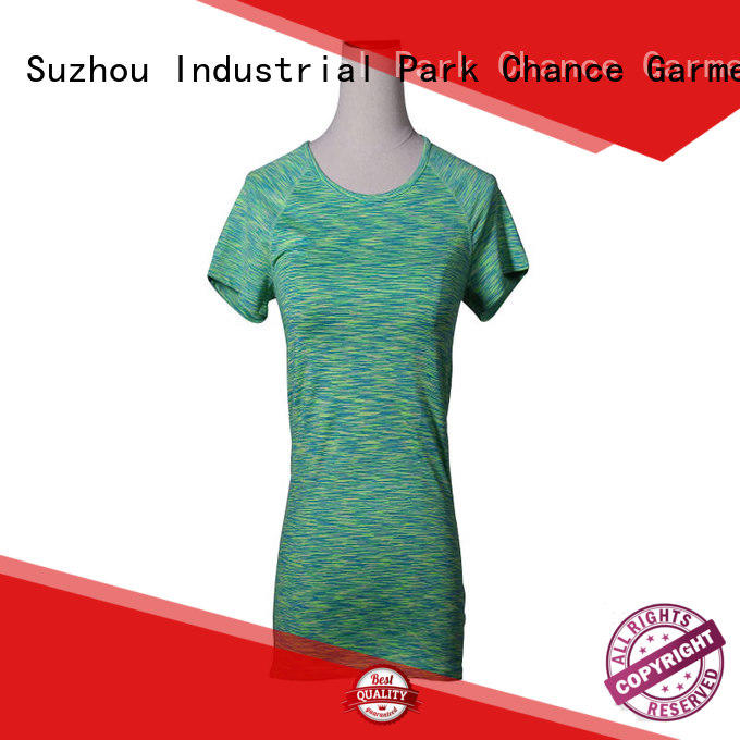 Fashion Short Sleeve ports Shirt Quick Dry Fitness Gym Yoga T Shirt