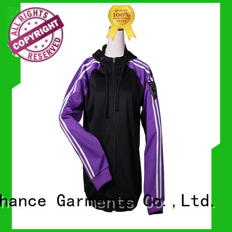 Chance quarter zip women's warm up suits personalized for jogging