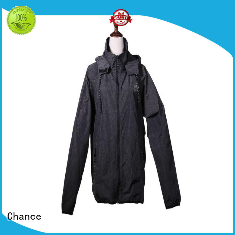 Chance polyester jackets for winter supplier for winter