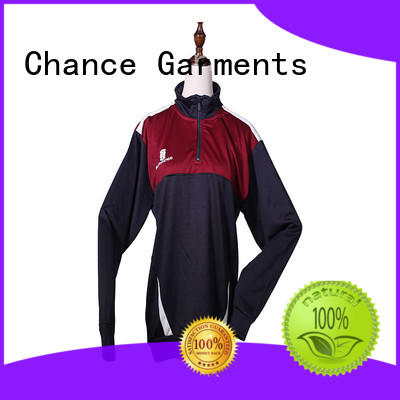 Chance mens sports tracksuits design for sport training