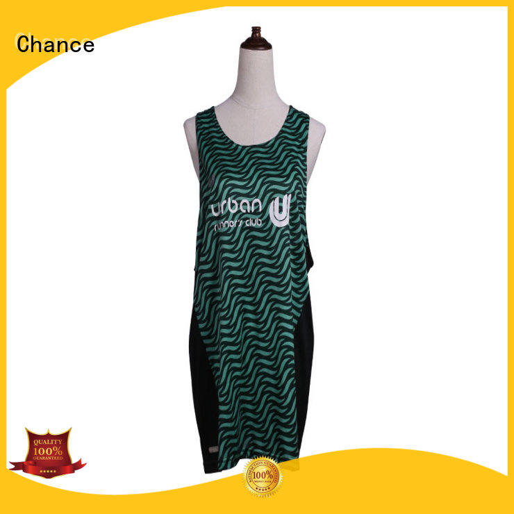 Chance running outfit from China for Marathon