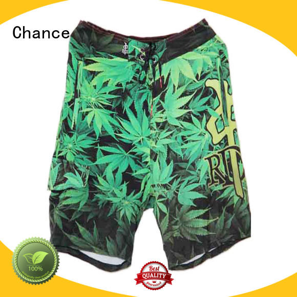 Chance mens athletic shorts customized for holiday
