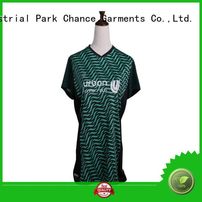 Chance breathable running tops customized for exercise