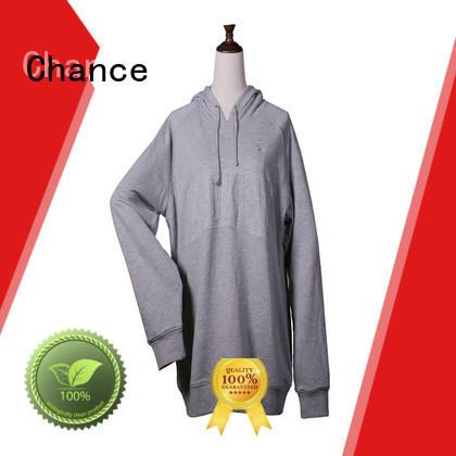 zip up sweatshirt for college Chance