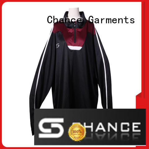 Chance classic sports tracksuit manufacturer for gym