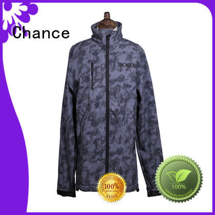 Chance sublimation lightweight waterproof jacket supplier for outdoor