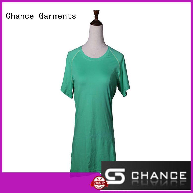 Chance round neck yoga wear wholesale for women