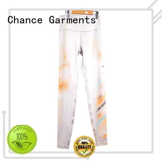Chance yoga shirt wholesale for gym