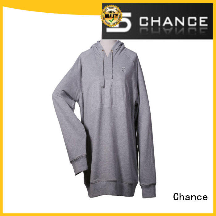 Chance short sleeves ladies sweatshirts manufacturer for sports