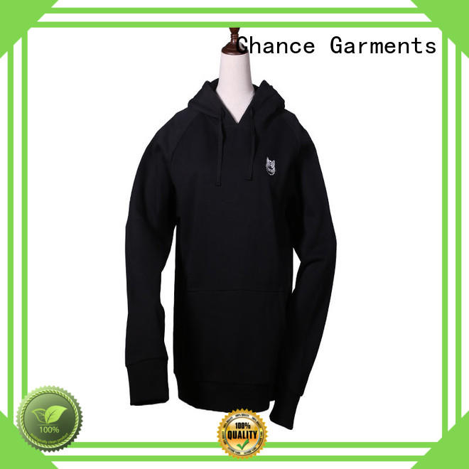 Chance breathable custom sweatshirts factory price for college