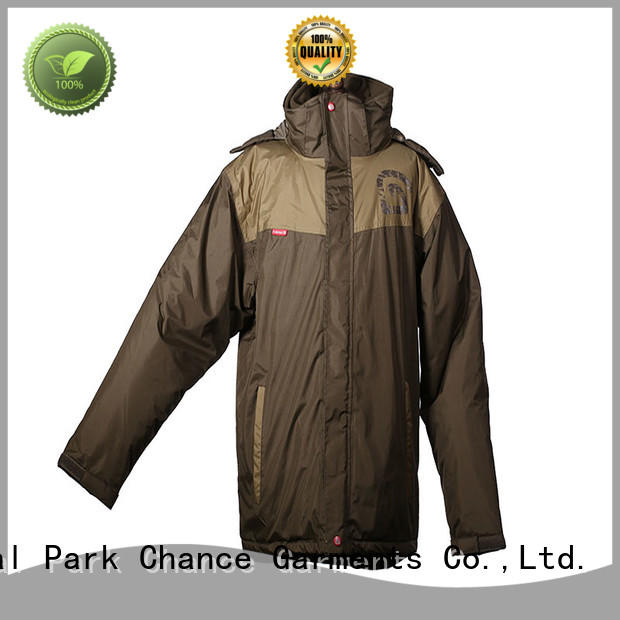 Chance lightweight softshell jacket customized for winter