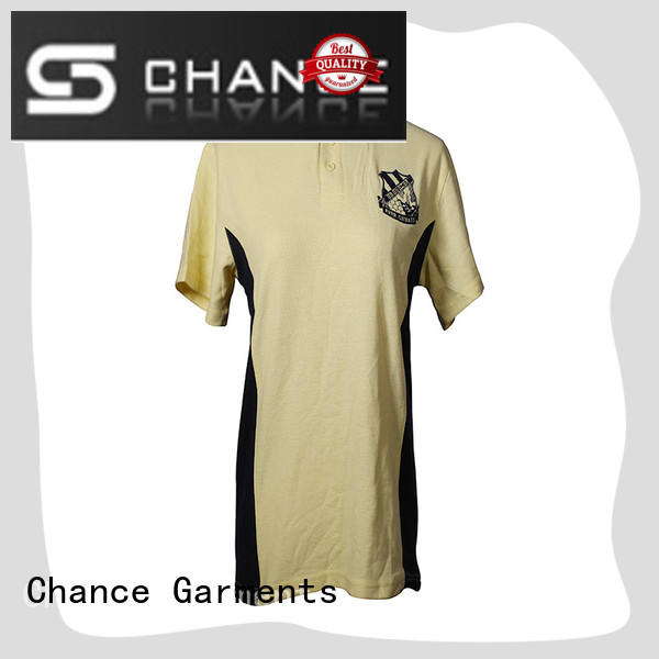 Chance polo t shirts wholesale wholesale for golf
