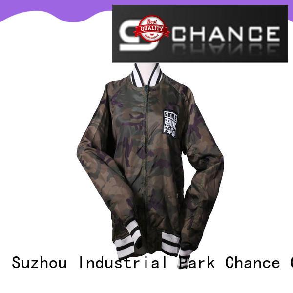 full zipper nylon jacket supplier for outdoor