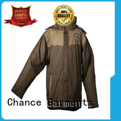 Polyester Jacket Waterproof For Winter Taffeta WR WP Outdoor With Hoody