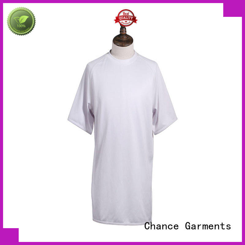 Polyester Knitted O-Neck T Shirt Custom Short Sleeve Printing