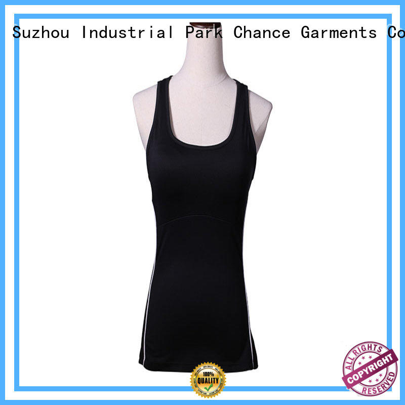 Chance hot yoga clothes manufacturer for gym