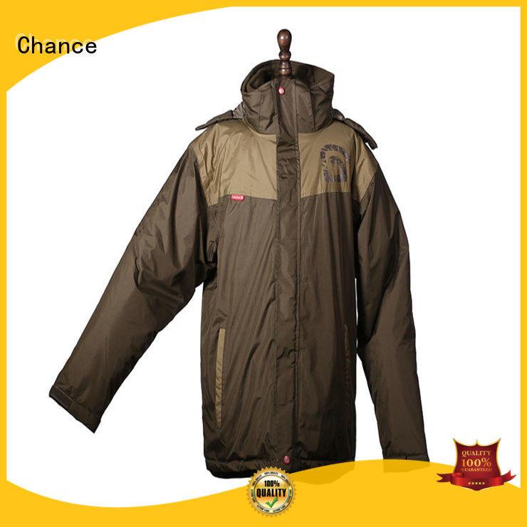Chance full zipper windbreak jacket supplier for outdoor