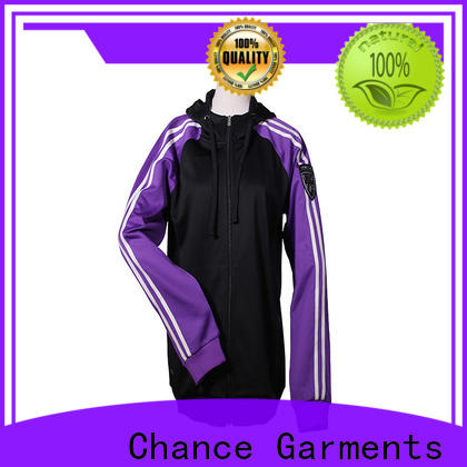 Chance polyester mens sports tracksuits manufacturer for gym